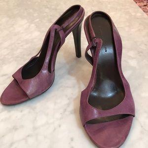 EUC Balenciaga purple sling back sandal